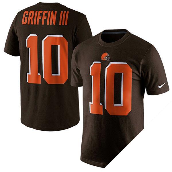 NFL ブラウンズ ロバート・グリフィン プレイヤー ネーム&ナンバー Tシャツ ナイキ/Nike