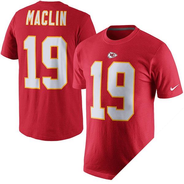 NFL チーフス ジェレミー・マクリン プレイヤー ネーム&ナンバー Tシャツ ナイキ/Nike