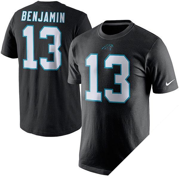 NFL パンサーズ ケルビン・ベンジャミン プレイヤー ネーム&ナンバー Tシャツ ナイキ/Nike
