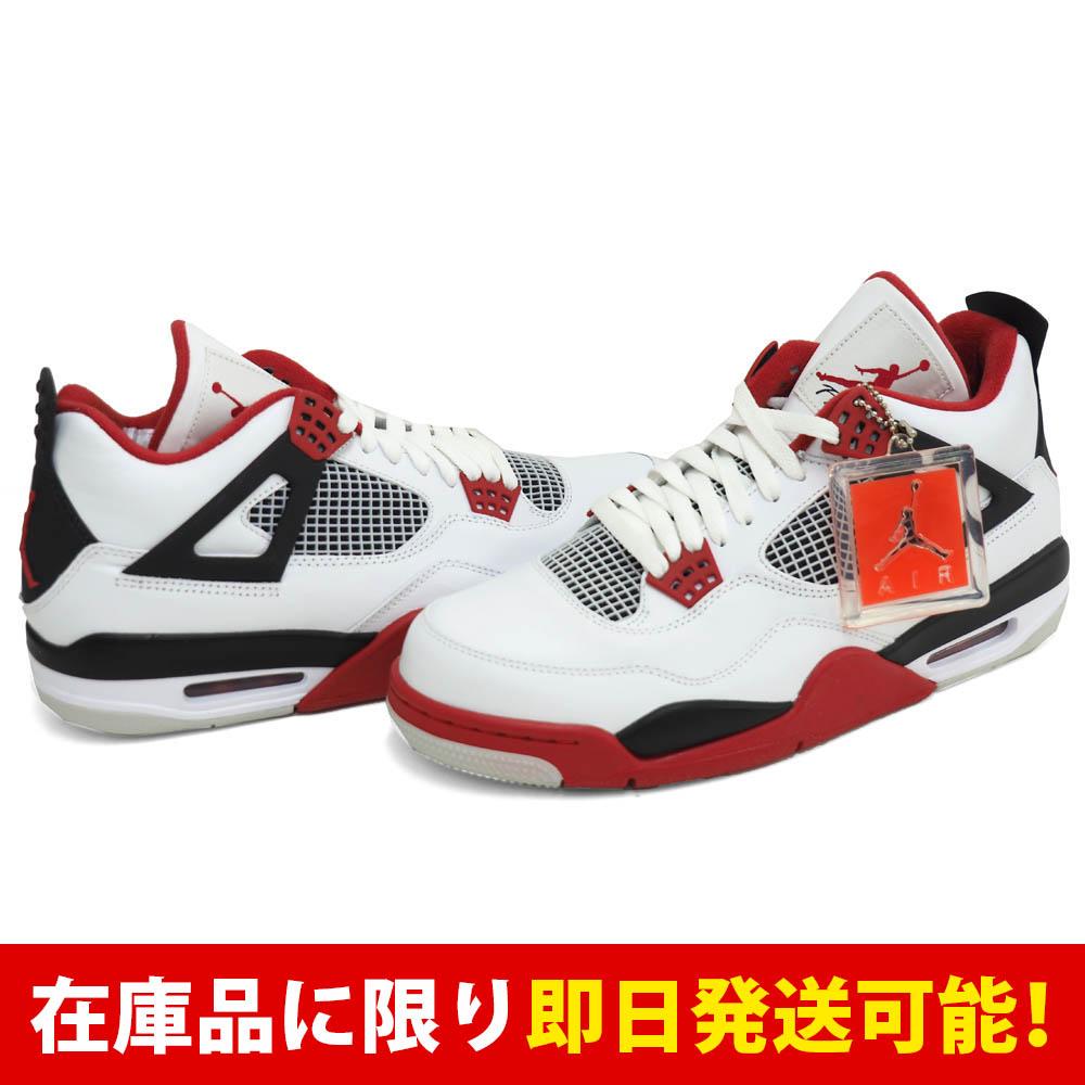 ナイキ / Nike エア ジョーダン 4 レトロ AIR JORDAN 4 RETRO ホワイト【1811FOOTセール】