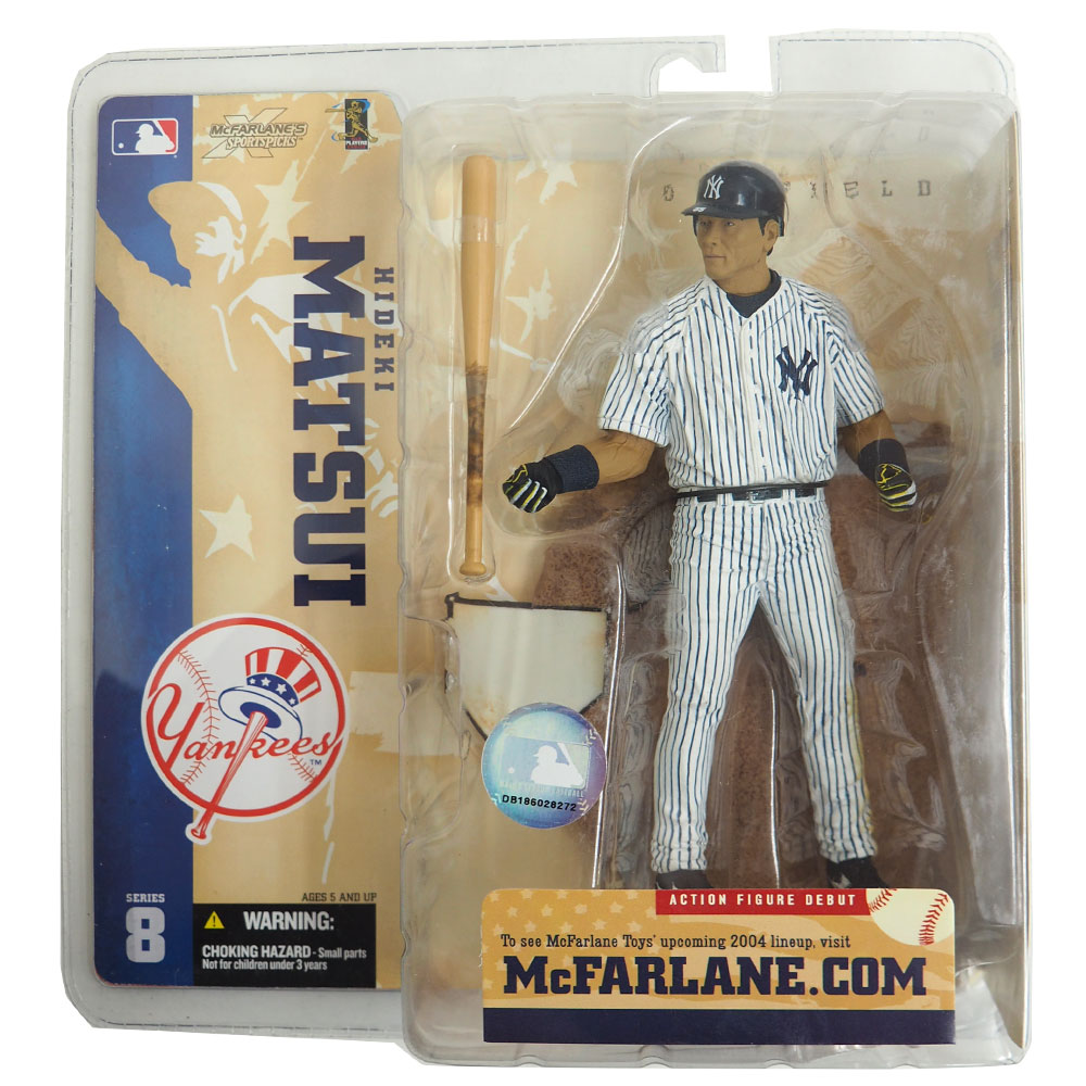 MLB ヤンキース 松井秀喜 フィギュア シリーズ8 バリアント マクファーレン / McFarlane ホーム レアアイテム