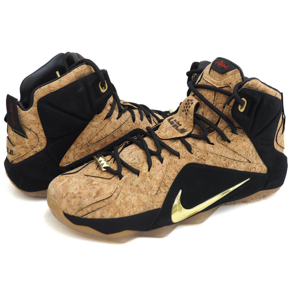 quality design 6f8b8 8e948 Can be ordered ordered Nike   NIKE LeBron 12 EXT Cork CORK LEBRON XII EXT  Brown ...