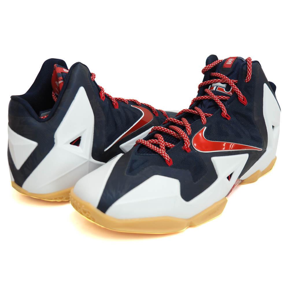 finest selection a2b03 dd8f5 Nike / Nike Revlon 11 LEBRON XI white rare model basketball shoes rare item