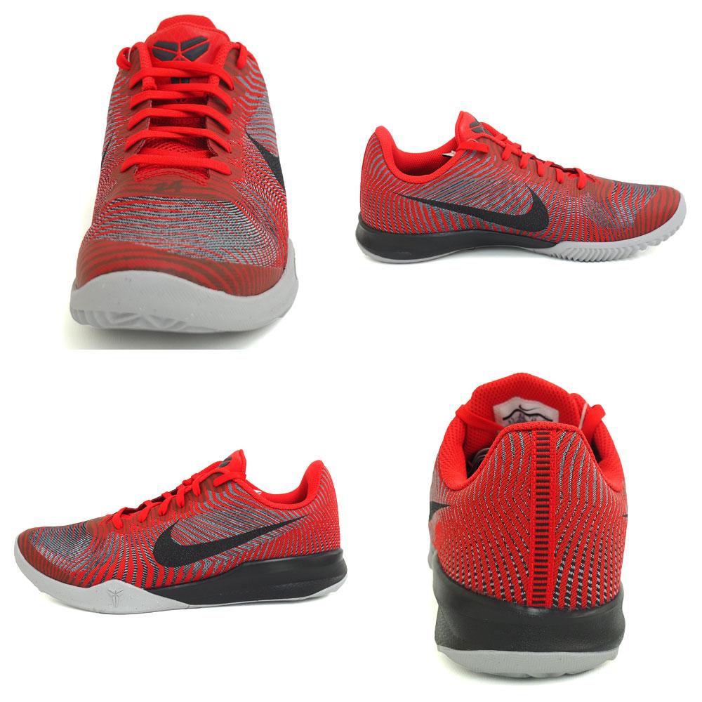 ... Mens Basketball Shoes - BlackUniversity RedMetallic Silver Nike Nike Kobe mentality mentality 2 2 kobe Nike Nike University Red ...