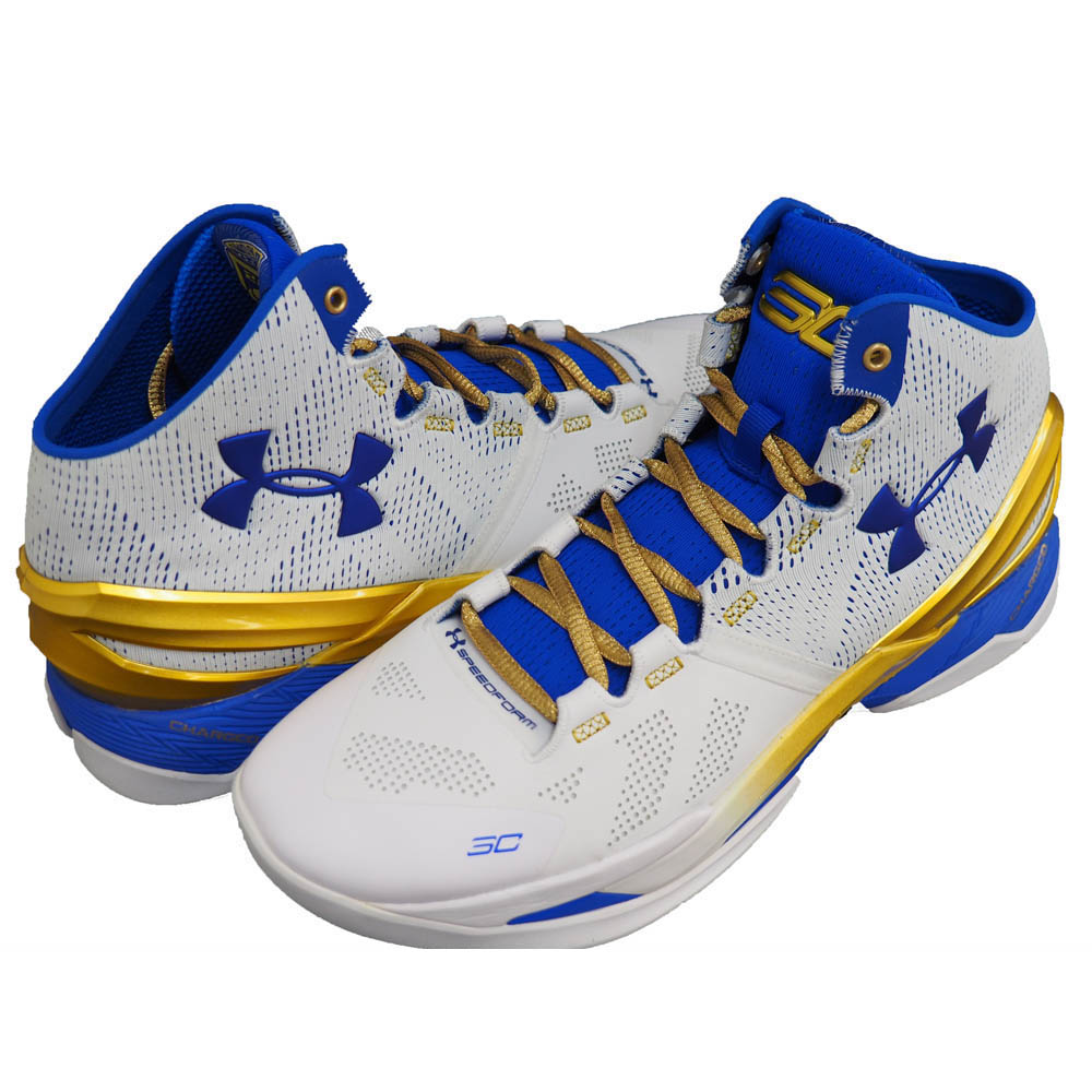 best service 02c31 28aea Under Armour Stephen Curry /Under Armour SC30 UA Curry 2 Goldring CURRY 2  Gold Rings white