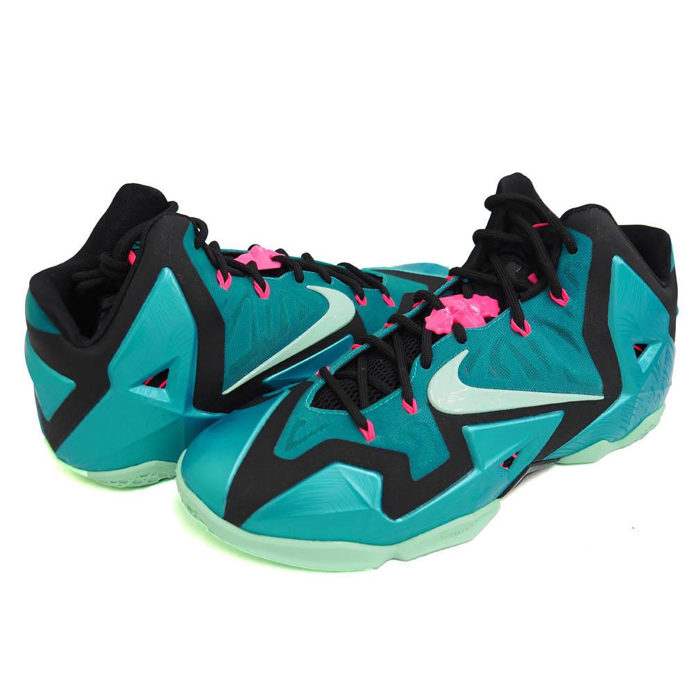 uk availability 6af44 e64cd Nike LeBron   NIKE LEBRON LeBron 11 Miami 11 SOUTH BEACH LEBRON Tak