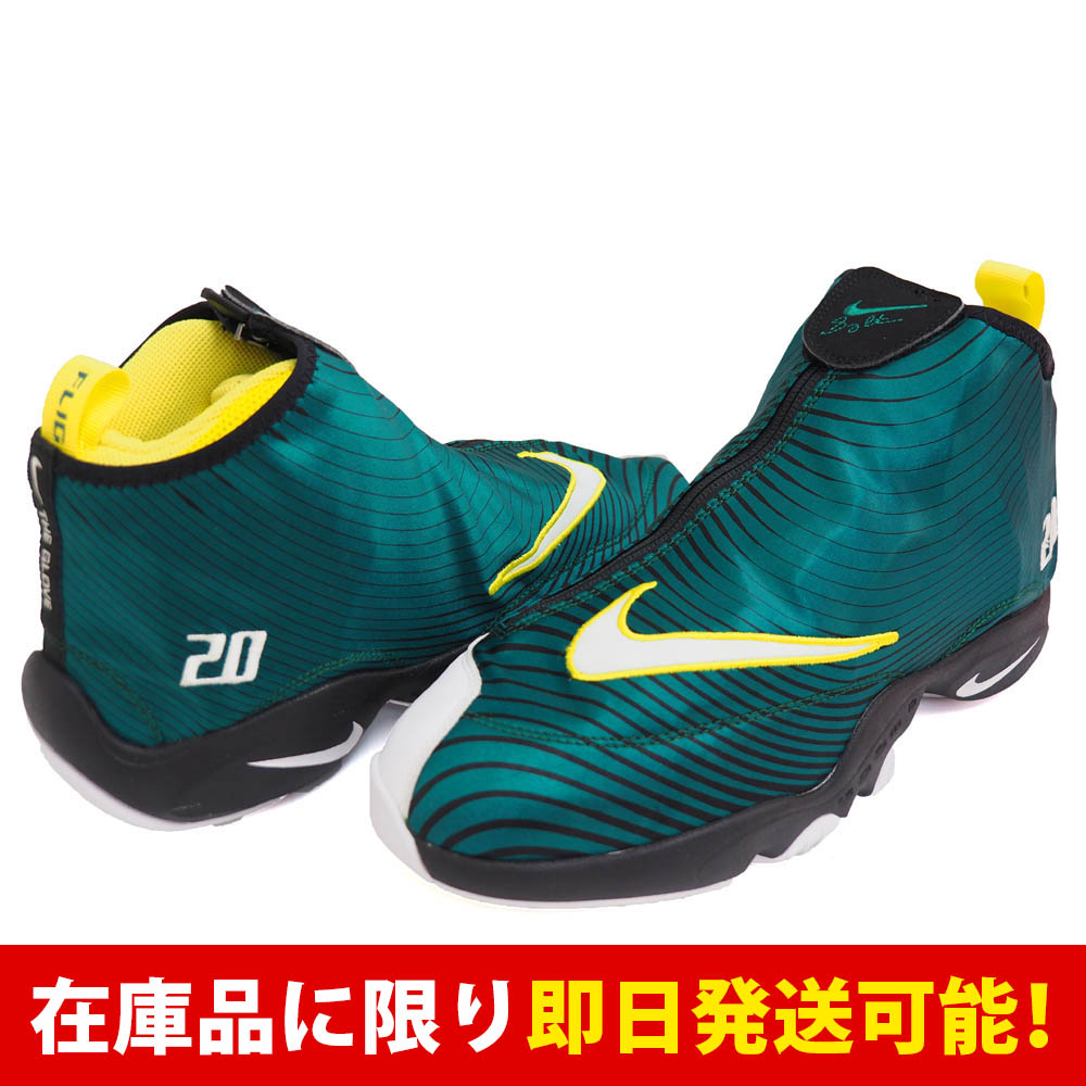 the best attitude 19b77 54879 Nike   NIKE Gary Payton air zoom flight 98 AIR ZOOM FLIGHT 98 green rare  model basketball shoes rare item rare item rare item