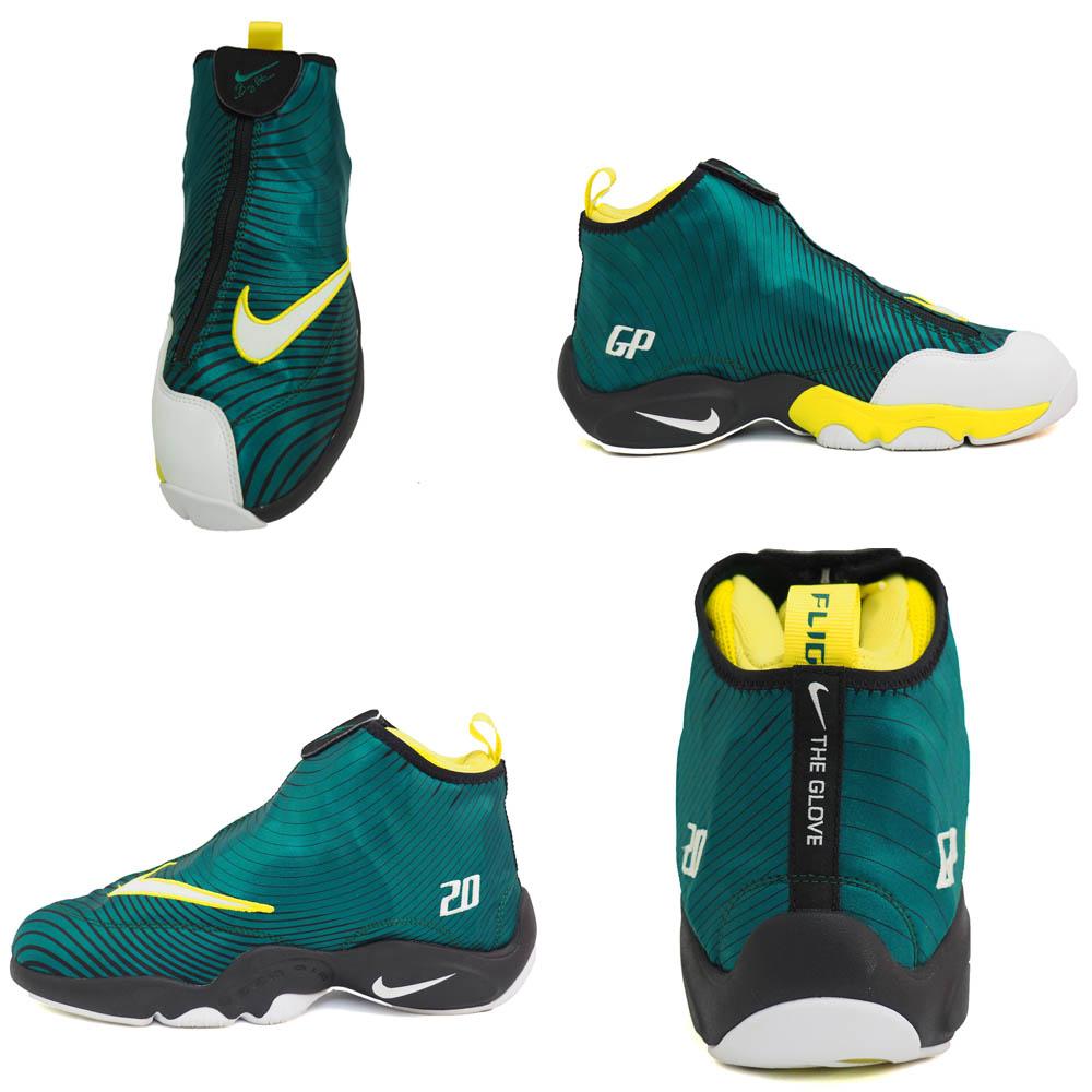 4320b9da0d7 Nike   NIKE Gary Payton air zoom flight 98 AIR ZOOM FLIGHT 98 green rare  model basketball shoes rare item rare item rare item