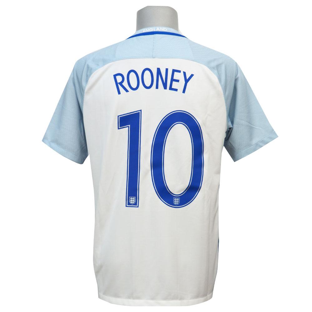 サッカー イングランド ウェイン・ルーニー 2016 レプリカユニフォーム ナイキ/Nike ホーム