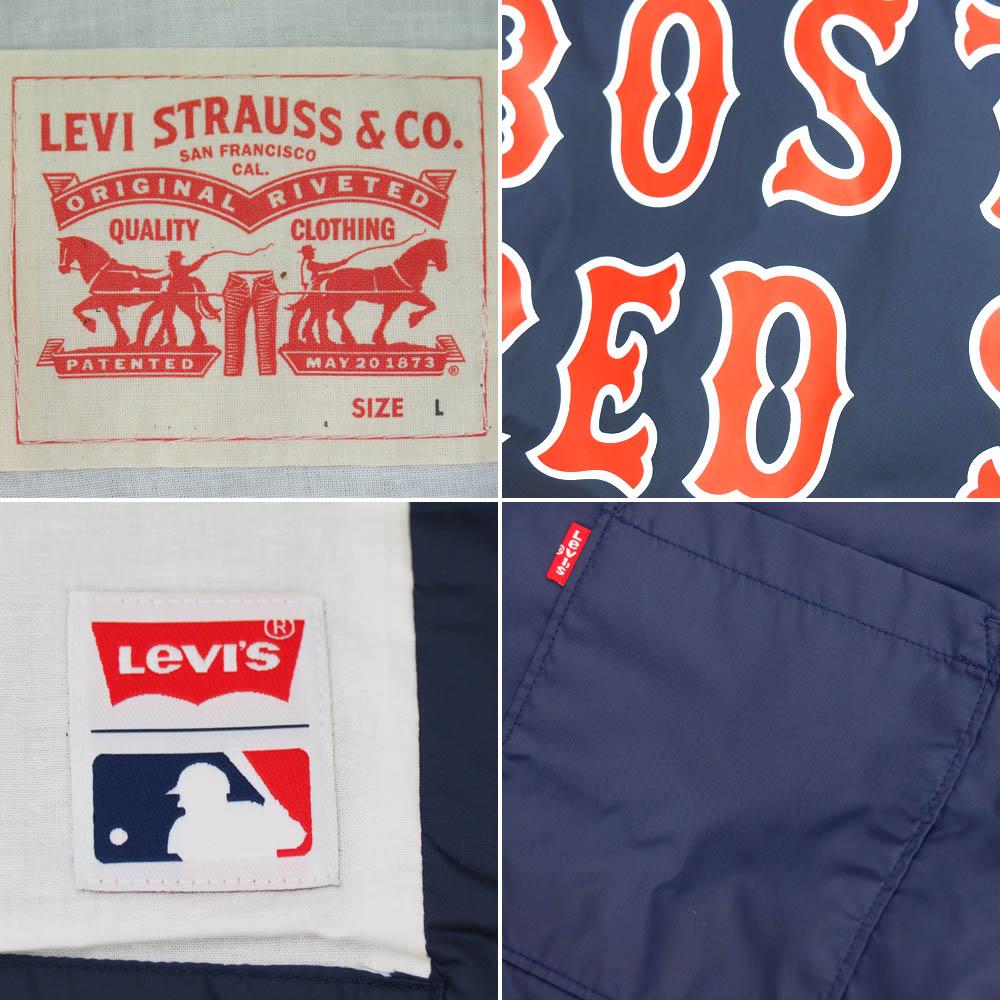 MLB Red Sox Levi's /LEVI'S Club coach jacket Navy