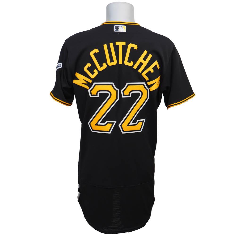MLB パイレーツ アンドルー・マカチェン フレックスベース オーセンティック プレーヤー ユニフォーム マジェスティック/Majestic ブラック
