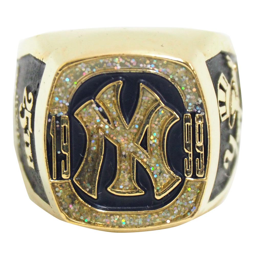 MLB ヤンキース 1999 ワールドシリーズ レプリカチャンピオンリング SGA レアアイテム