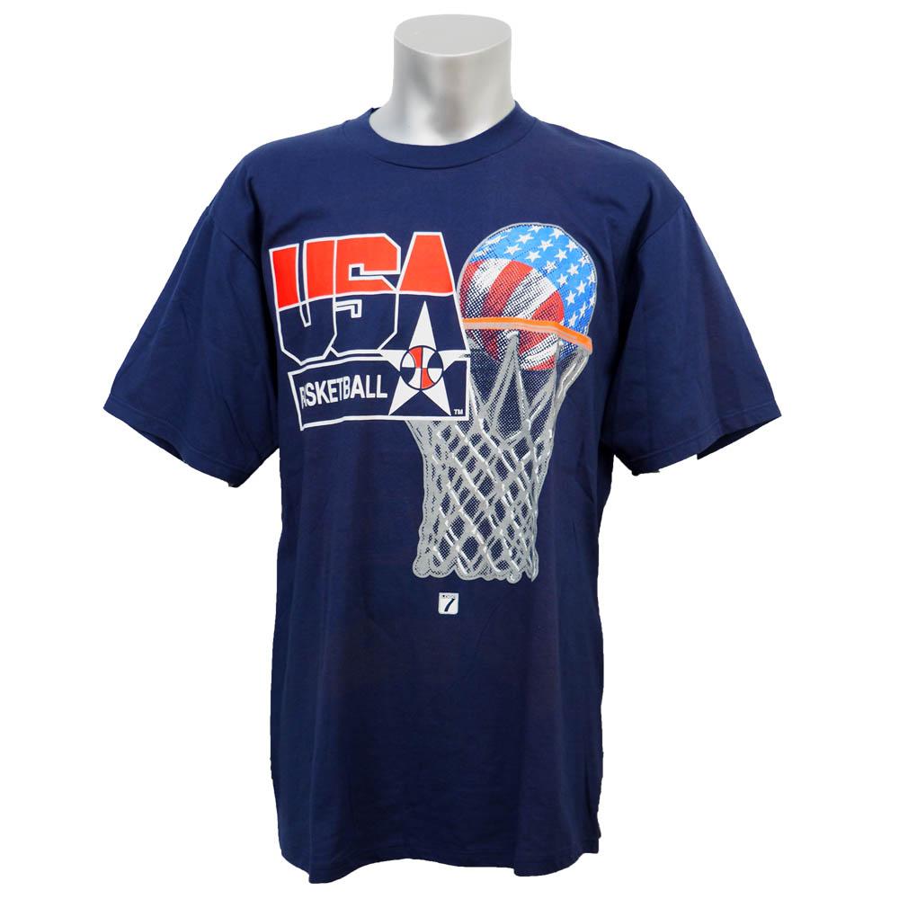 USA代表 ドリームチーム 1992 ゴール Tシャツ ネイビー レアアイテム