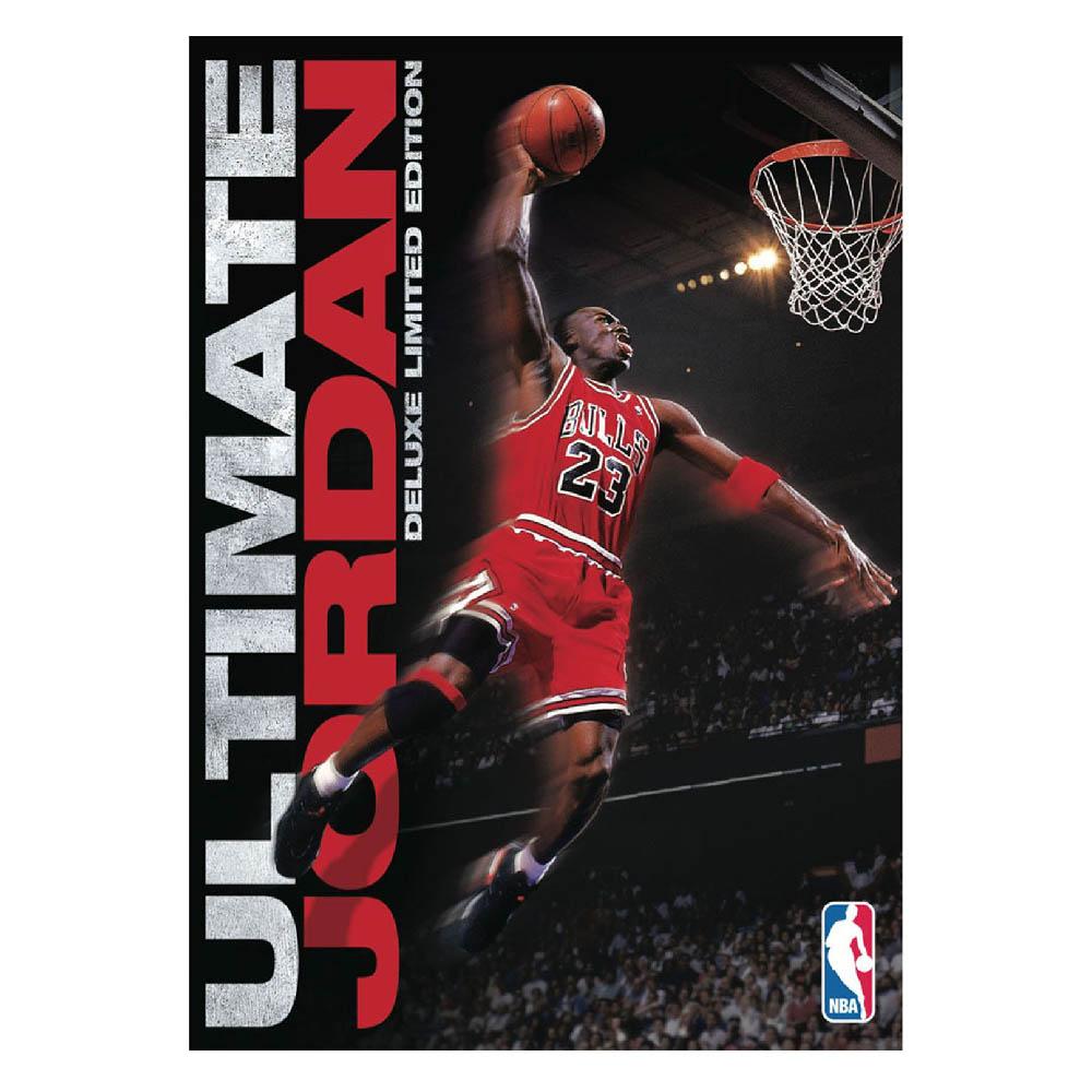 NBA ブルズ マイケル・ジョーダン DVD アルティメット ジョーダン デラックス リミテッド エディション NBAビデオ/NBA Video レアアイテム