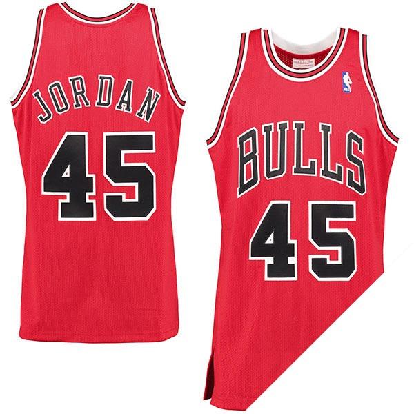 NBA ブルズ マイケル・ジョーダン 1994-95 ホームカミング オーセンティック ユニフォーム ミッチェル&ネス/Mitchell & Ness