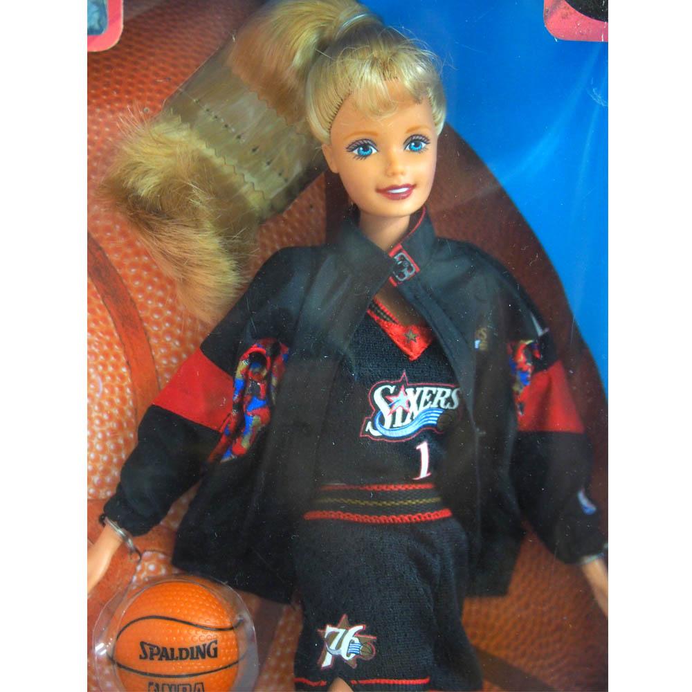 NBA 76 人队芭比娃娃 1998年模型收藏品芭比娃娃 /Barbie 收藏品