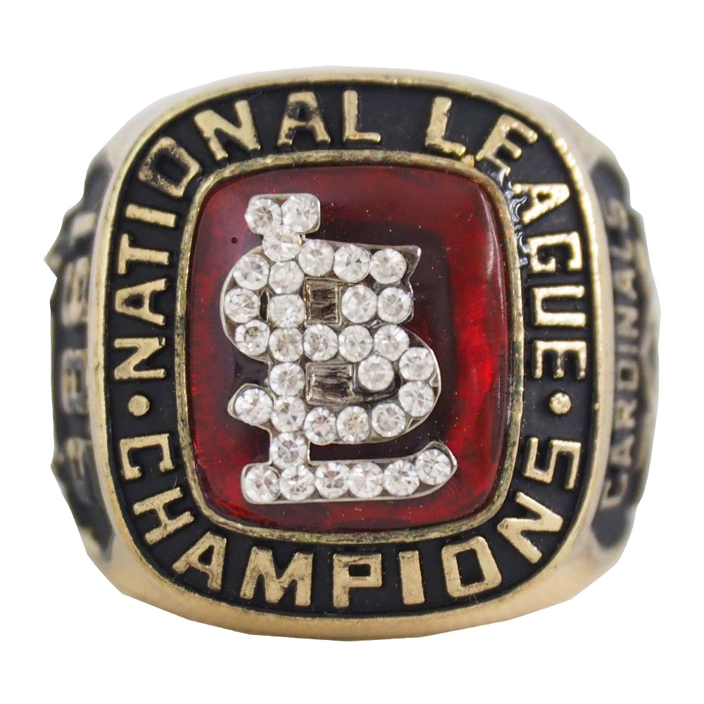 MLB カージナルス 1985 ナ・リーグ チャンピオンズ レプリカ リング エスジーエー/SGA レアアイテム