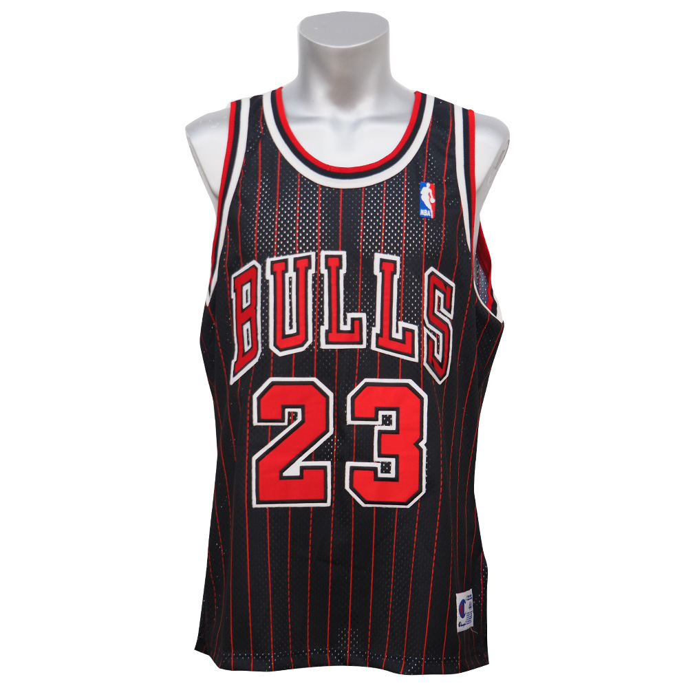 NBA bulls Michael Jordan authentic Jersey champion  Champion alternate    black 249b7e79f