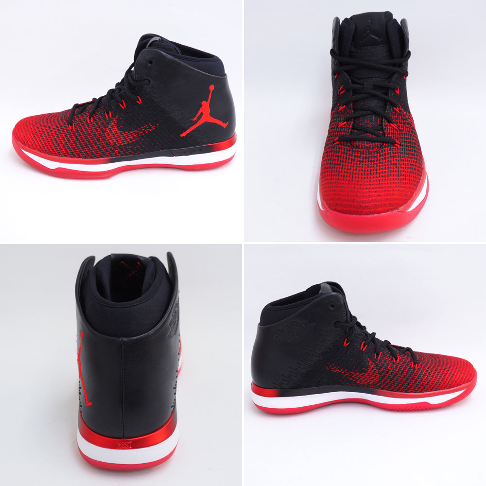 167763889871 Nike Jordan  NIKE JORDAN Jordan 31 AIR JORDAN XXXI 845037-001 black   red