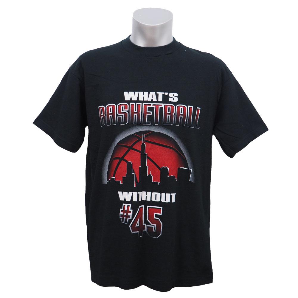 NBA ブルズ マイケル・ジョーダン NBA復帰記念Tシャツ Salem ブラック レアアイテム