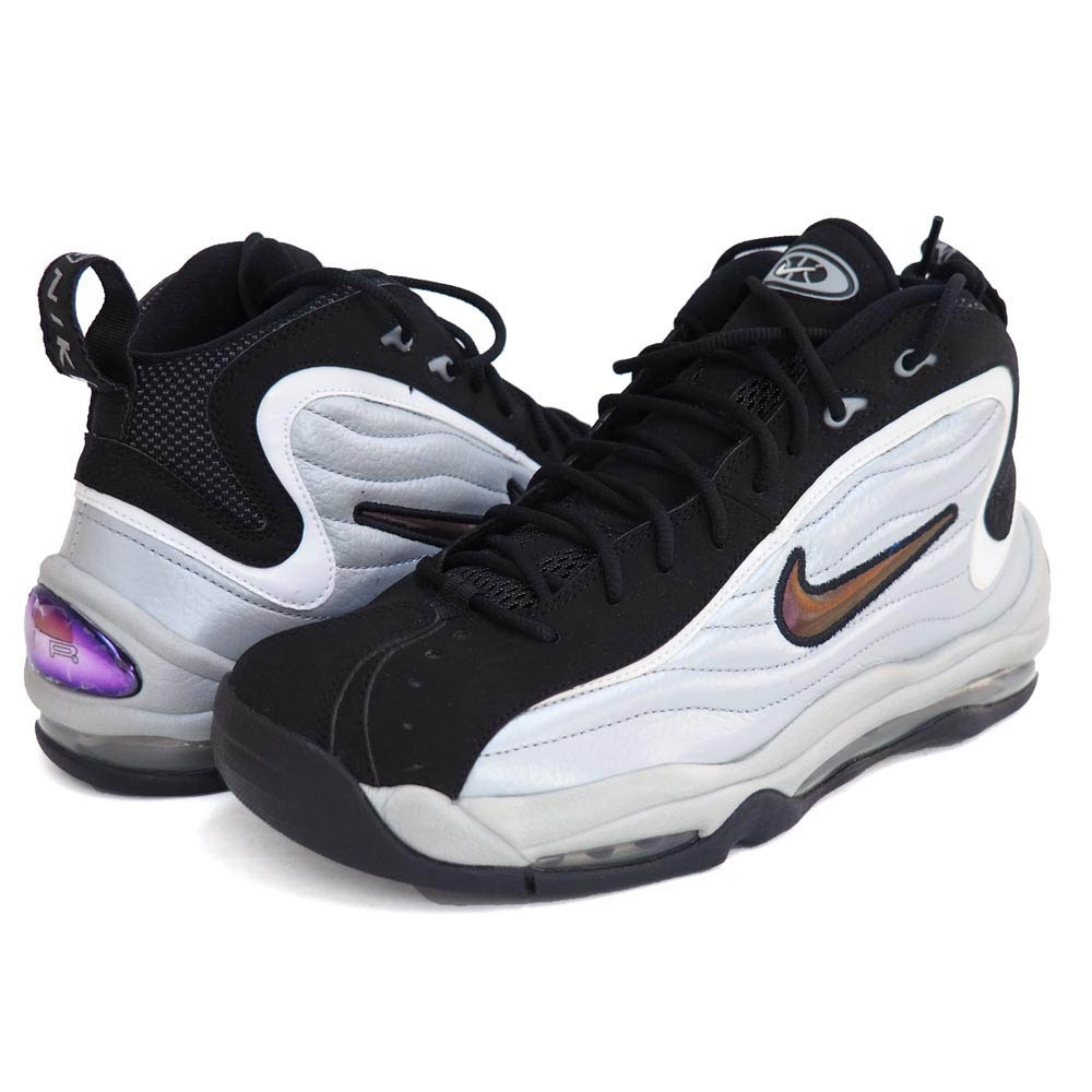 NIKE Nike air total max up tempo AIR TOTAL MAX UPTEMPO 366,724 001 white basketball shoes rare item