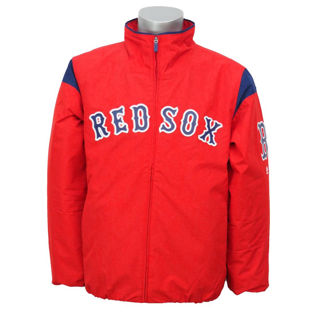 MLB レッドソックス オーセンティック オンフィールド プレミア ジャケット マジェスティック/Majestic レッド