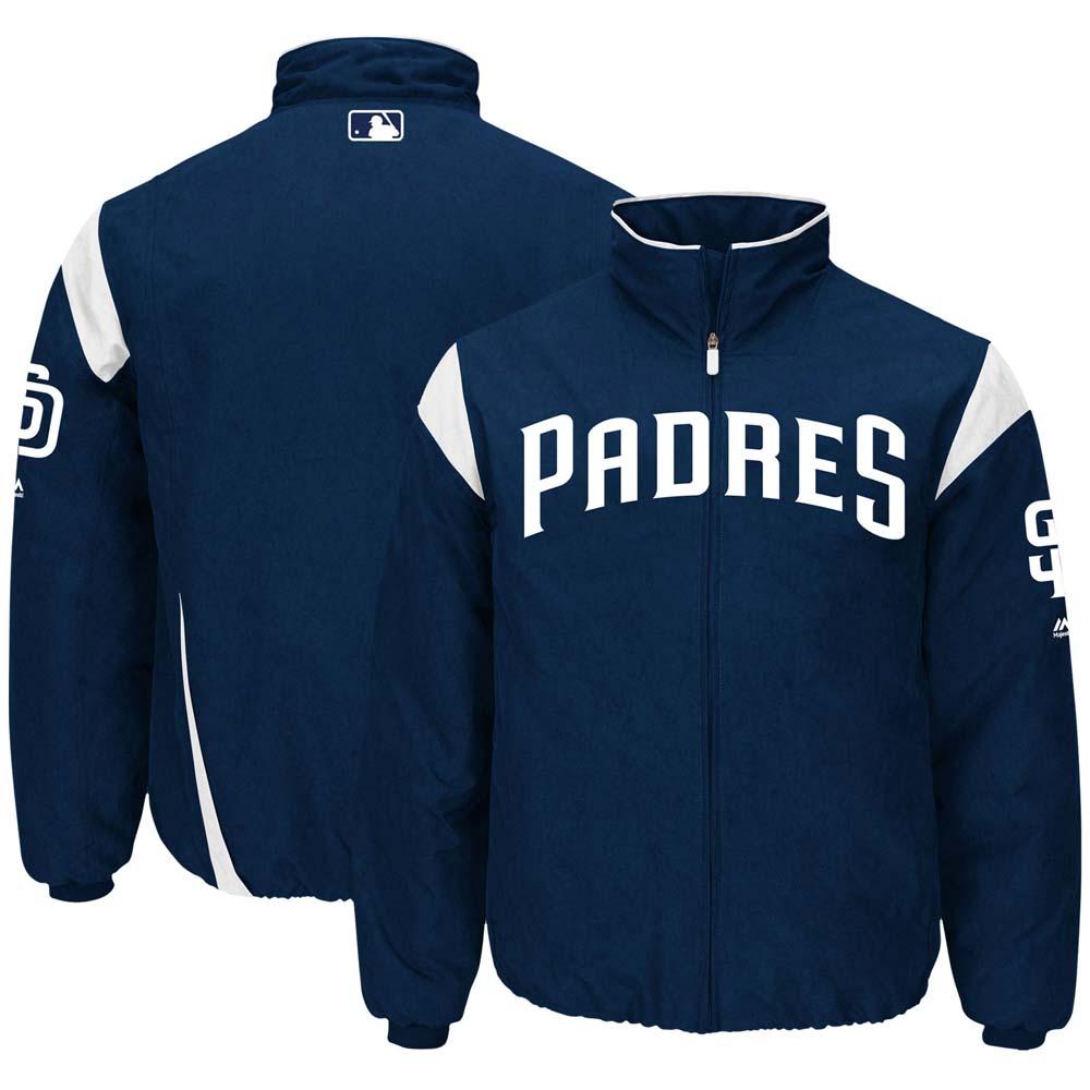 MLB パドレス オーセンティック オンフィールド プレミア ジャケット マジェスティック/Majestic ネイビー