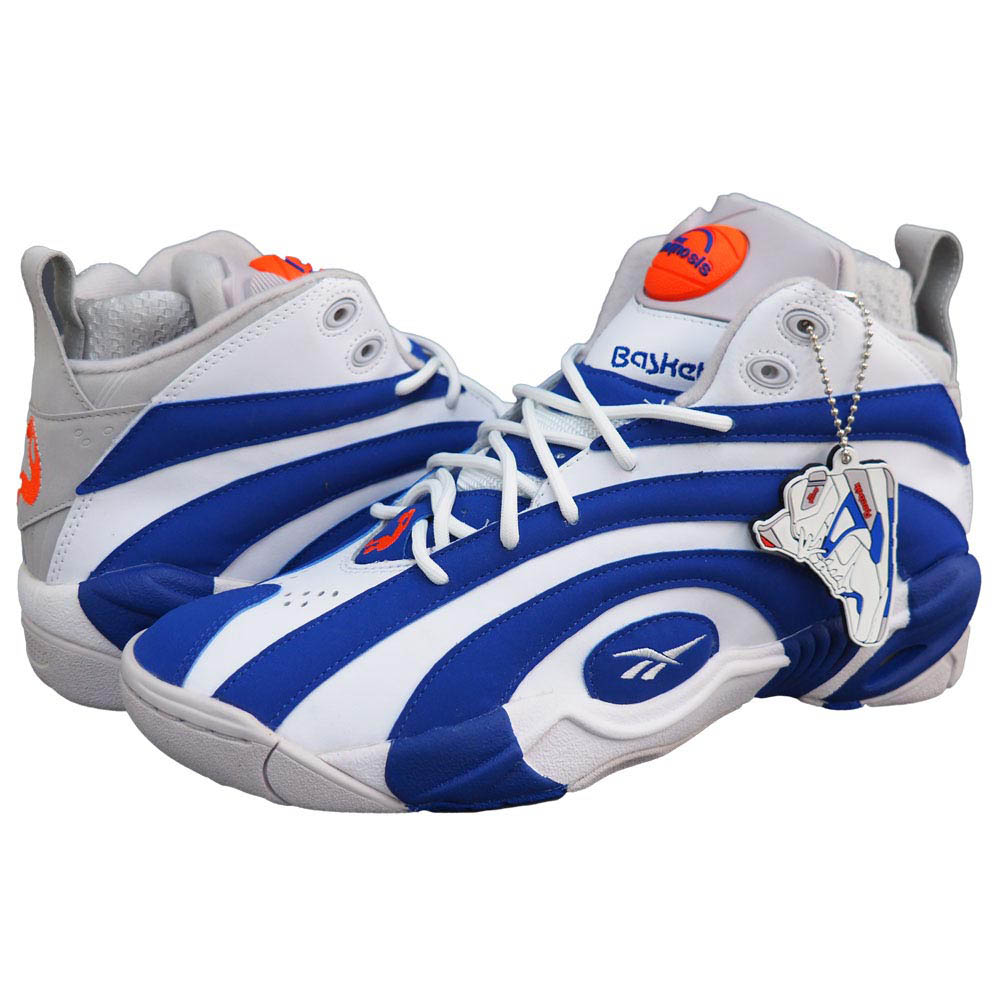 NBA シャキール・オニール ポンプ シャックノーシス Pump Shaqnosis M49243 リーボック/Reebok ブルー/ホワイト バッシュ レアアイテム レアアイテム レアアイテム