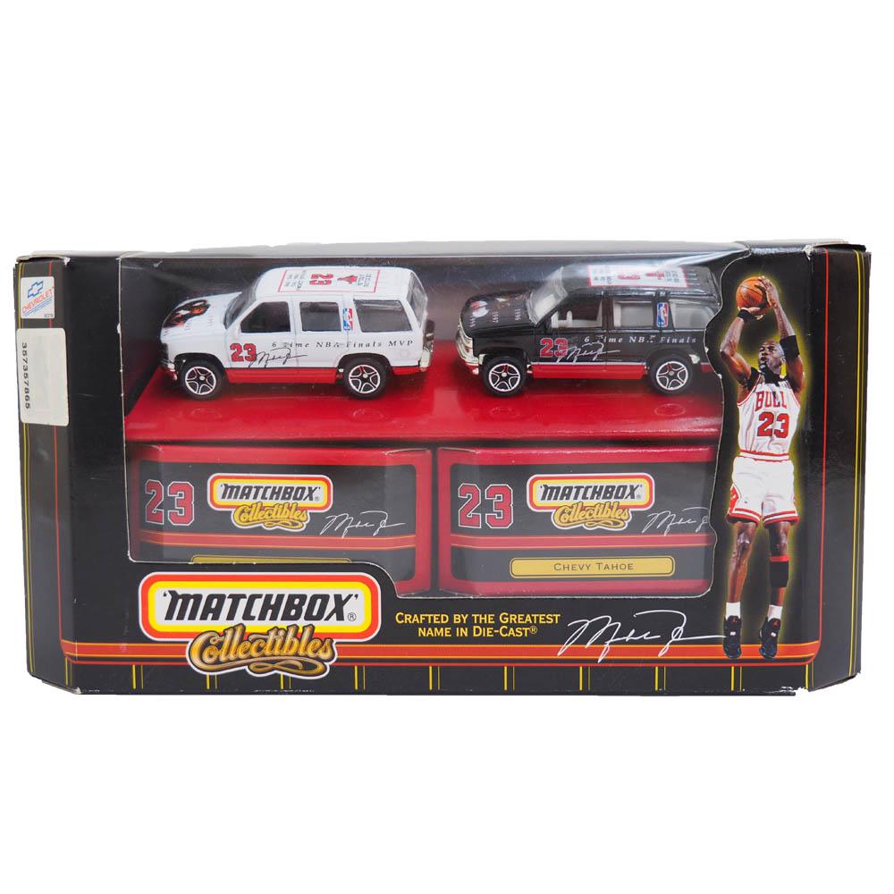 NBA ブルズ マイケル・ジョーダン マッチボックス コレクタブル シボレーセット アッパーデック / Upper Deck レアアイテム