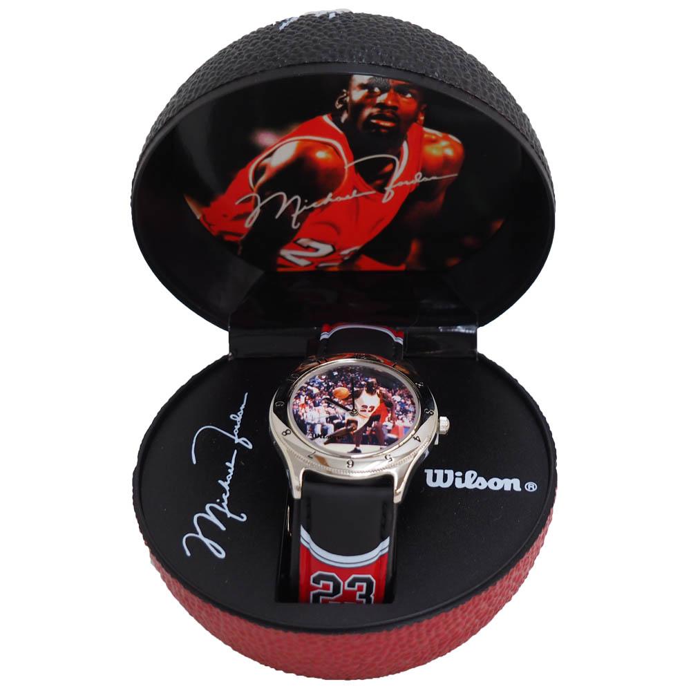 NBA マイケル・ジョーダン バスケットボール 腕時計 Wilson レアアイテム