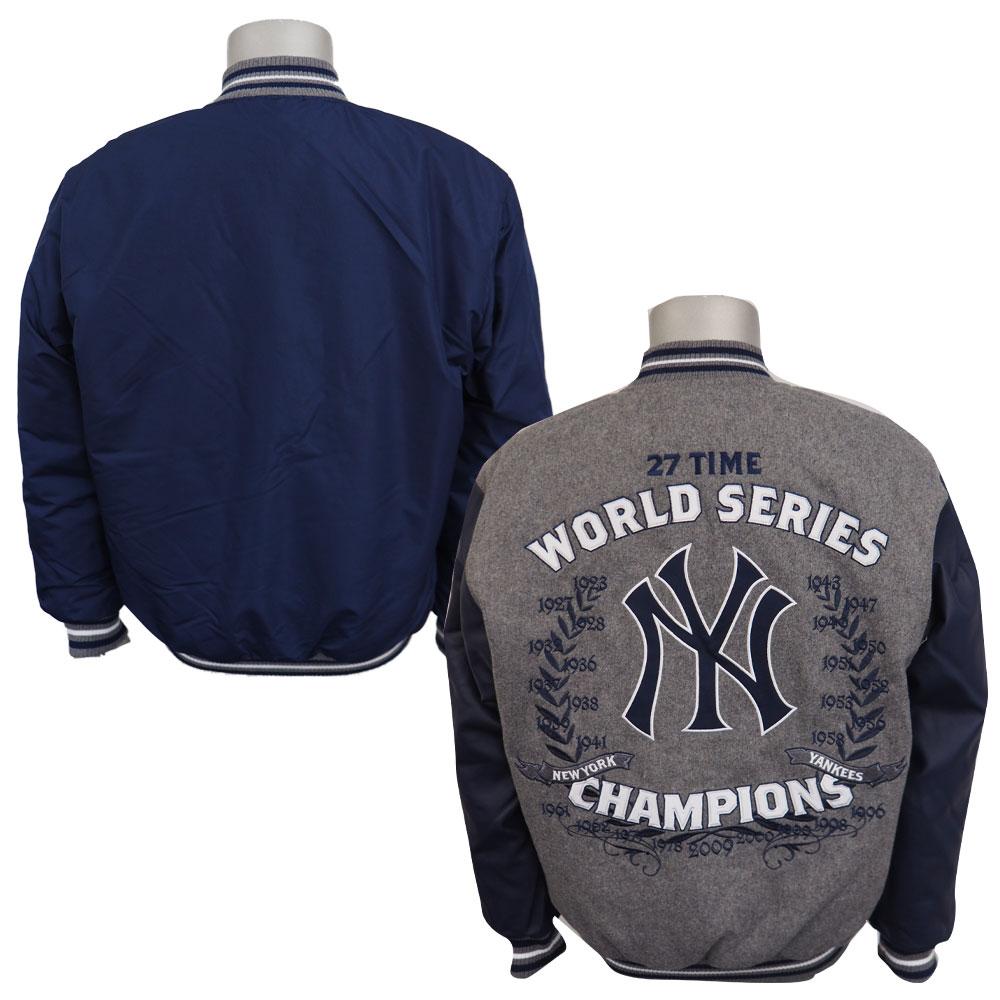 Mlb Nba Nfl Goods Shop Mlb Yankees Reversible Commemorative Melton