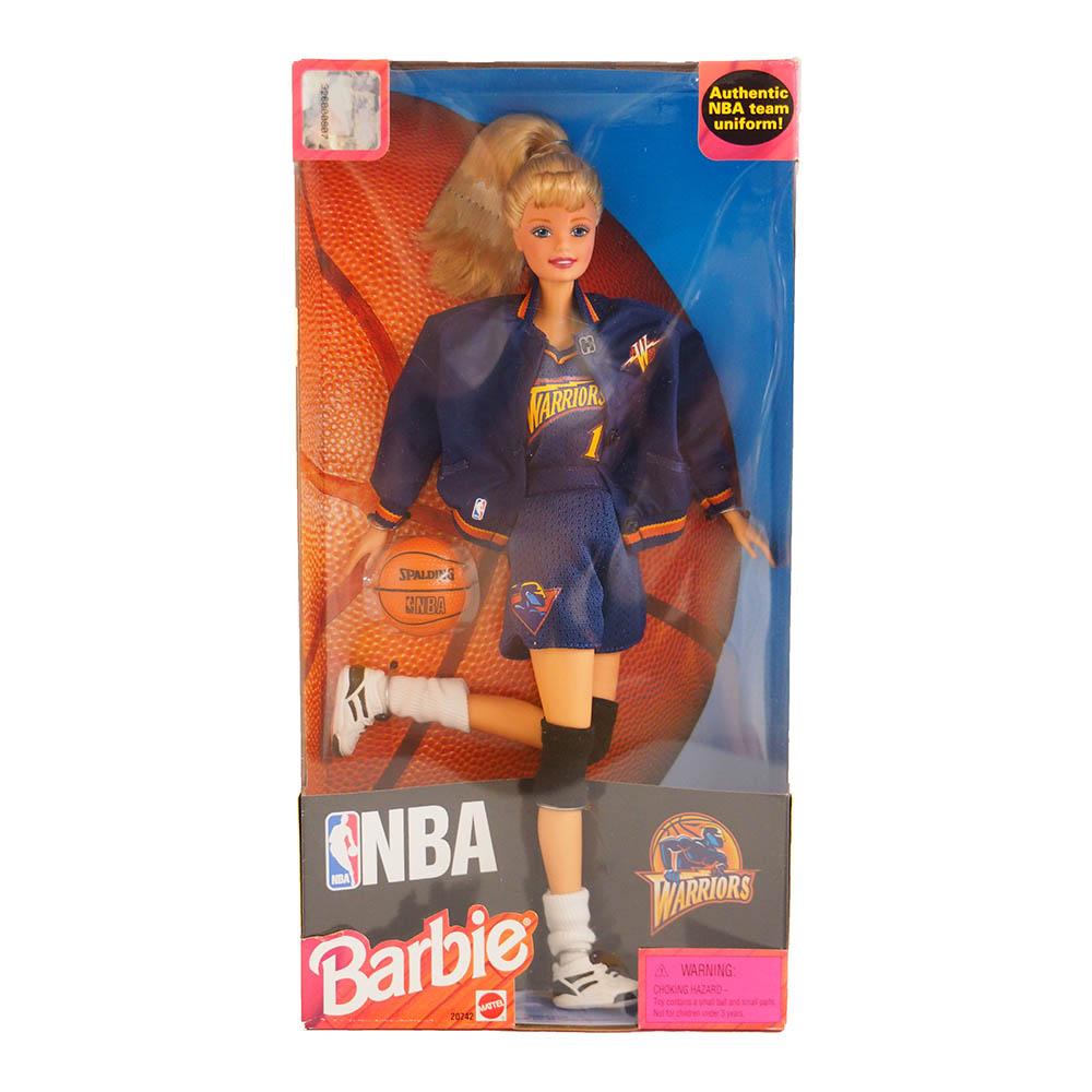 NBA ウォリアーズ 1998年製 バービードール Barbie Collectibles レアアイテム