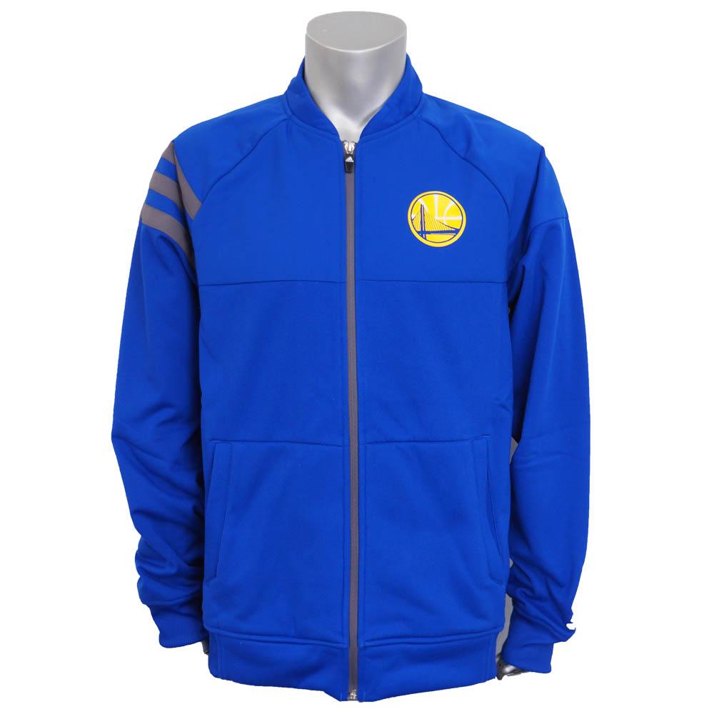 NBA ウォリアーズ ティップオフ ジャケット アディダス/Adidas ブルー