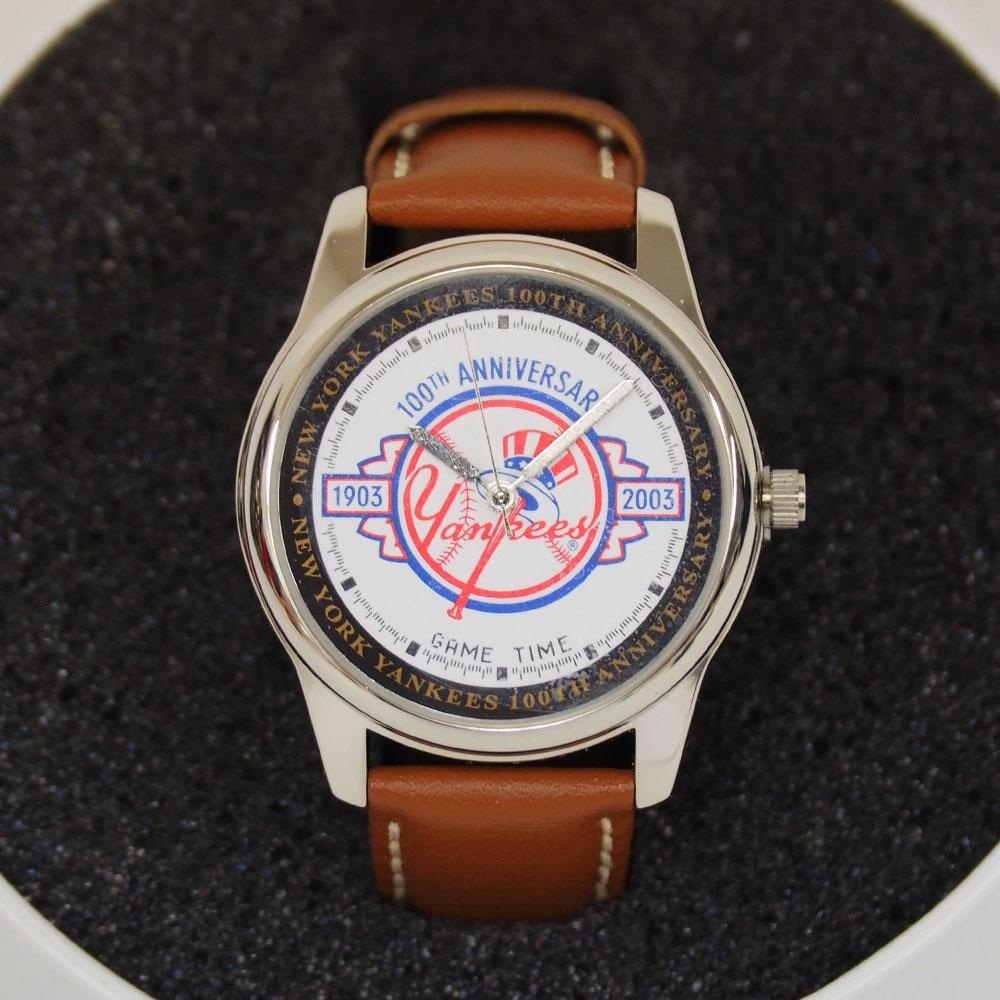 MLB ヤンキース 創設100周年記念 腕時計 GAME TIME レアアイテム