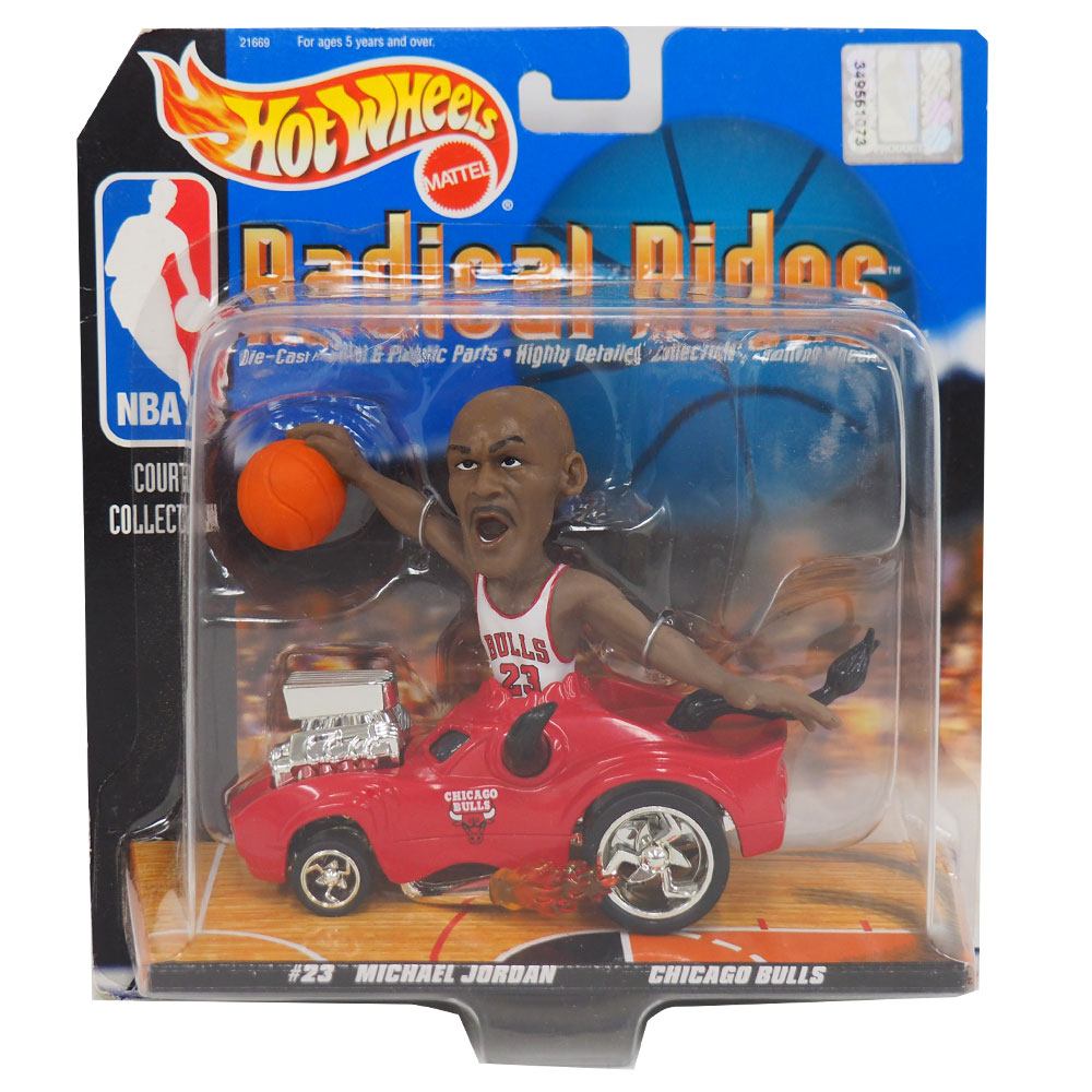 NBA ブルズ マイケル・ジョーダン ラディカルライズ 1998 ホットウィール/Hot Wheels レアアイテム