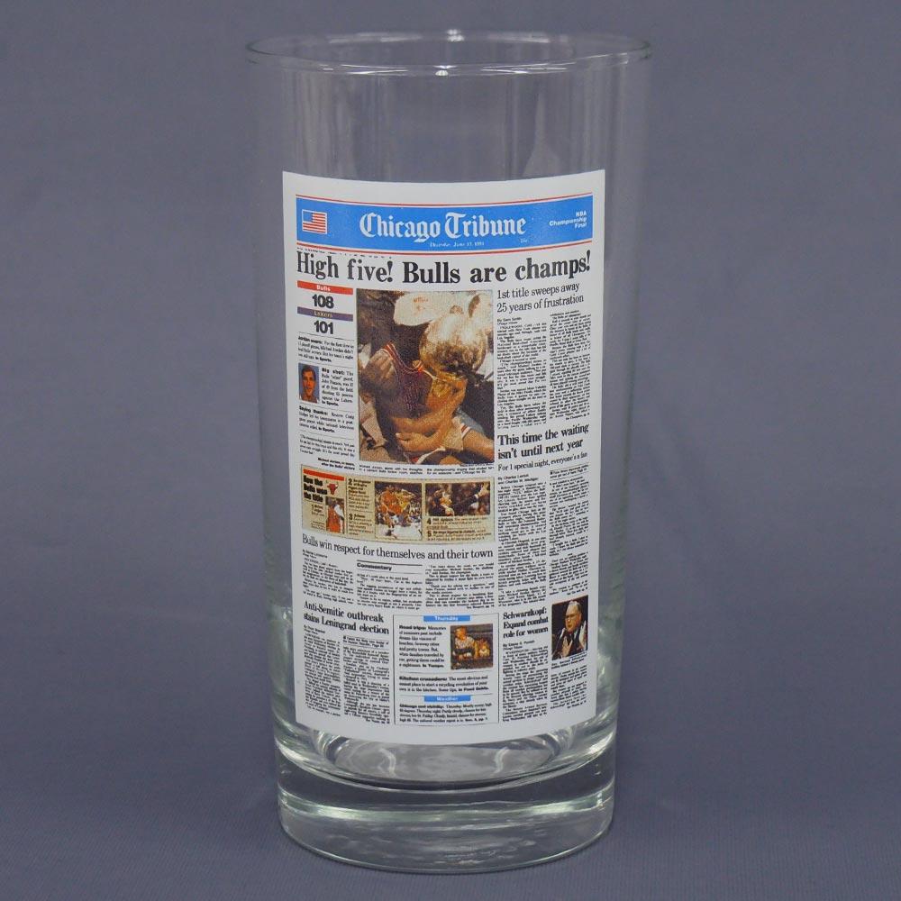 NBA ブルズ 1992 チャンピオン グラス レアアイテム