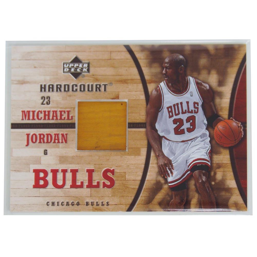 NBA ブルズ マイケル・ジョーダン 2006-07 ゲームフロア カード アッパーデック/Upper Deck レアアイテム