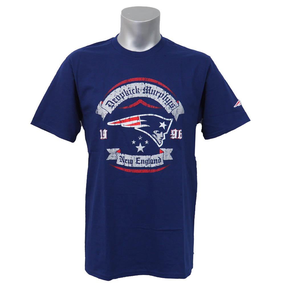 NFL 爱国者 myTeam 我市 T 衬衫滴踢和墨菲的 x 新英格兰爱国者茶春 Teespring 海军