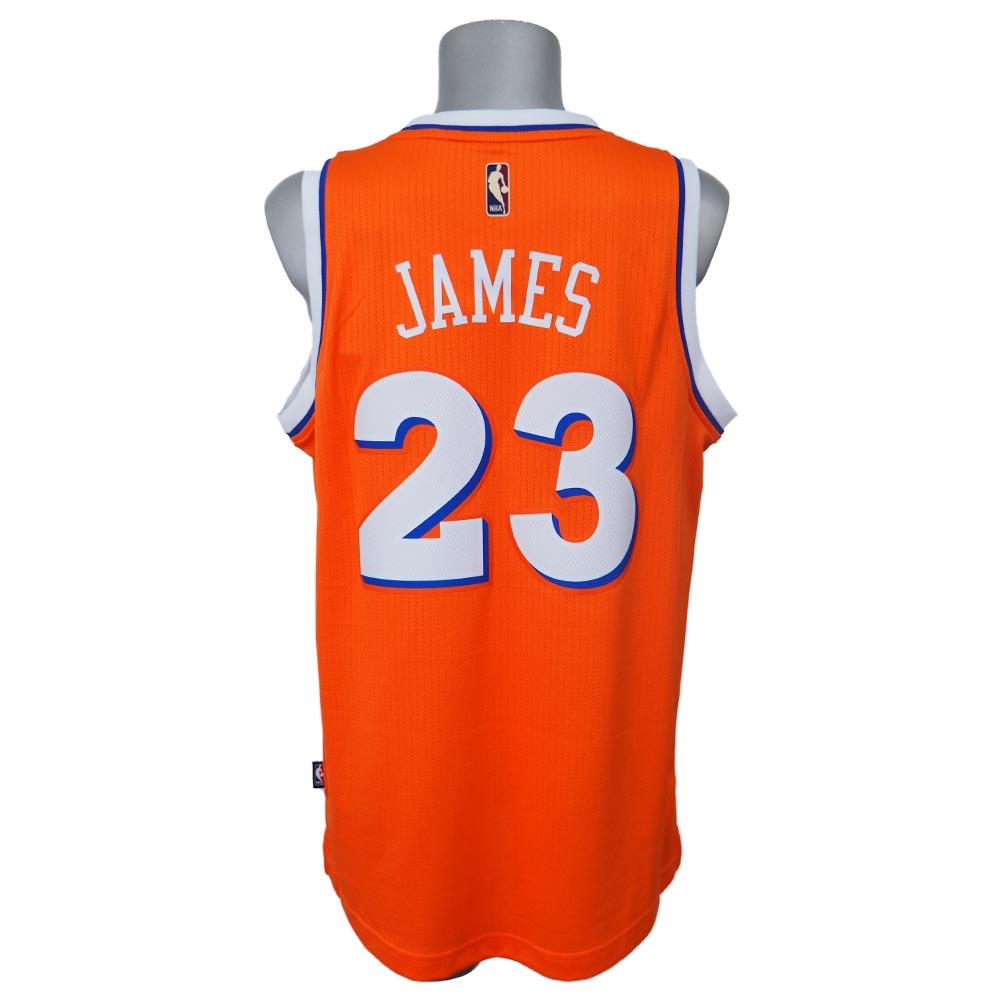 NBA キャバリアーズ レブロン・ジェイムス ハードウッドクラシック ナイツ ユニフォーム アディダス/Adidas オレンジ