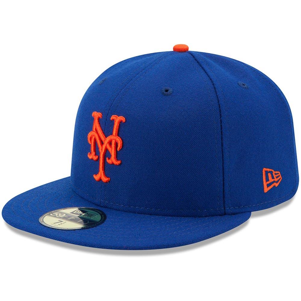 メジャー選手が試合中に着用するオーセンティックモデル メッツ キャップ 至上 ニューエラ NEW ERA MLB オーセンティック 平つば オンフィールド ゲーム 特集 59FIFTY プレゼント