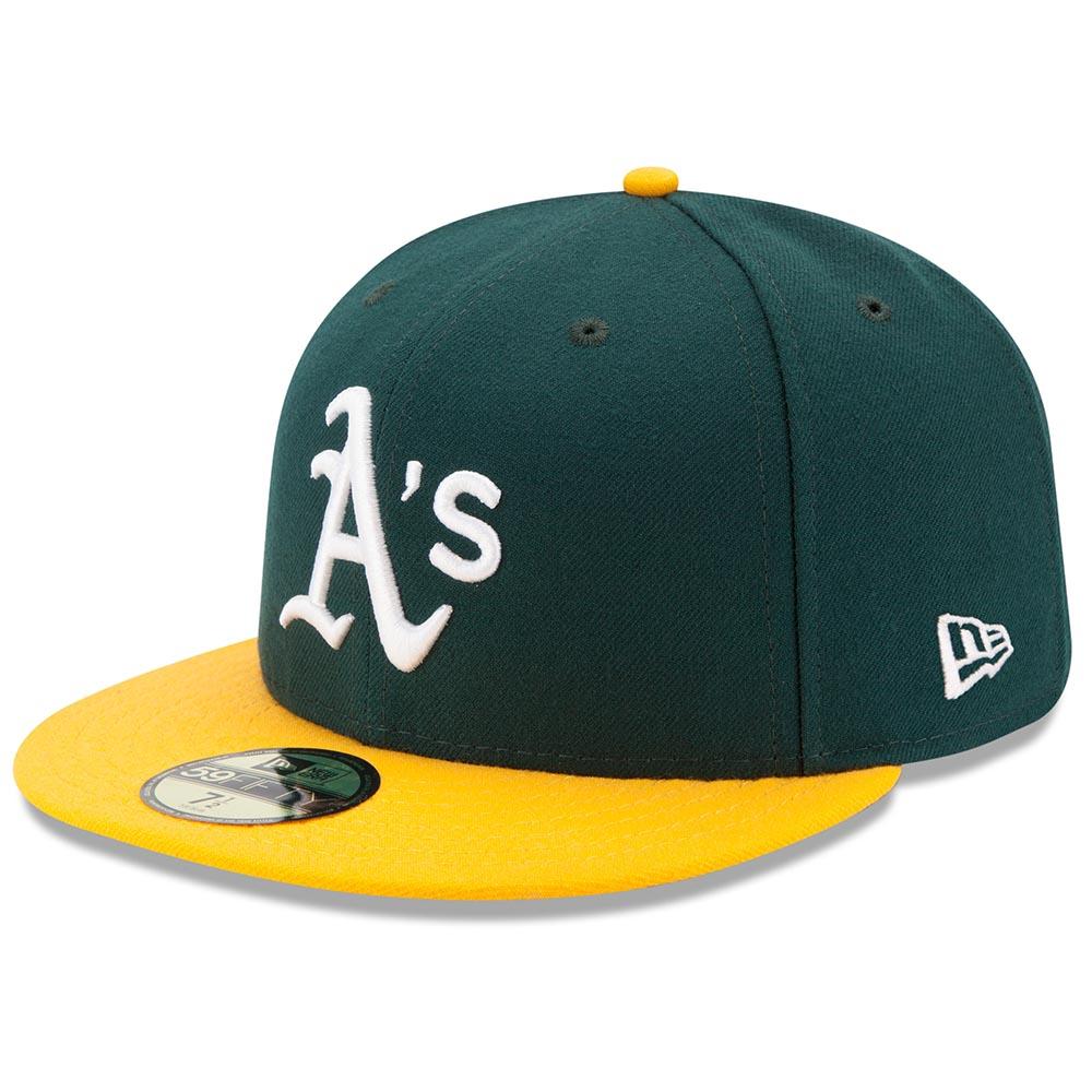 アスレチックス キャップ ニューエラ NEW ERA MLB オーセンティック オンフィールド 59FIFTY ホーム