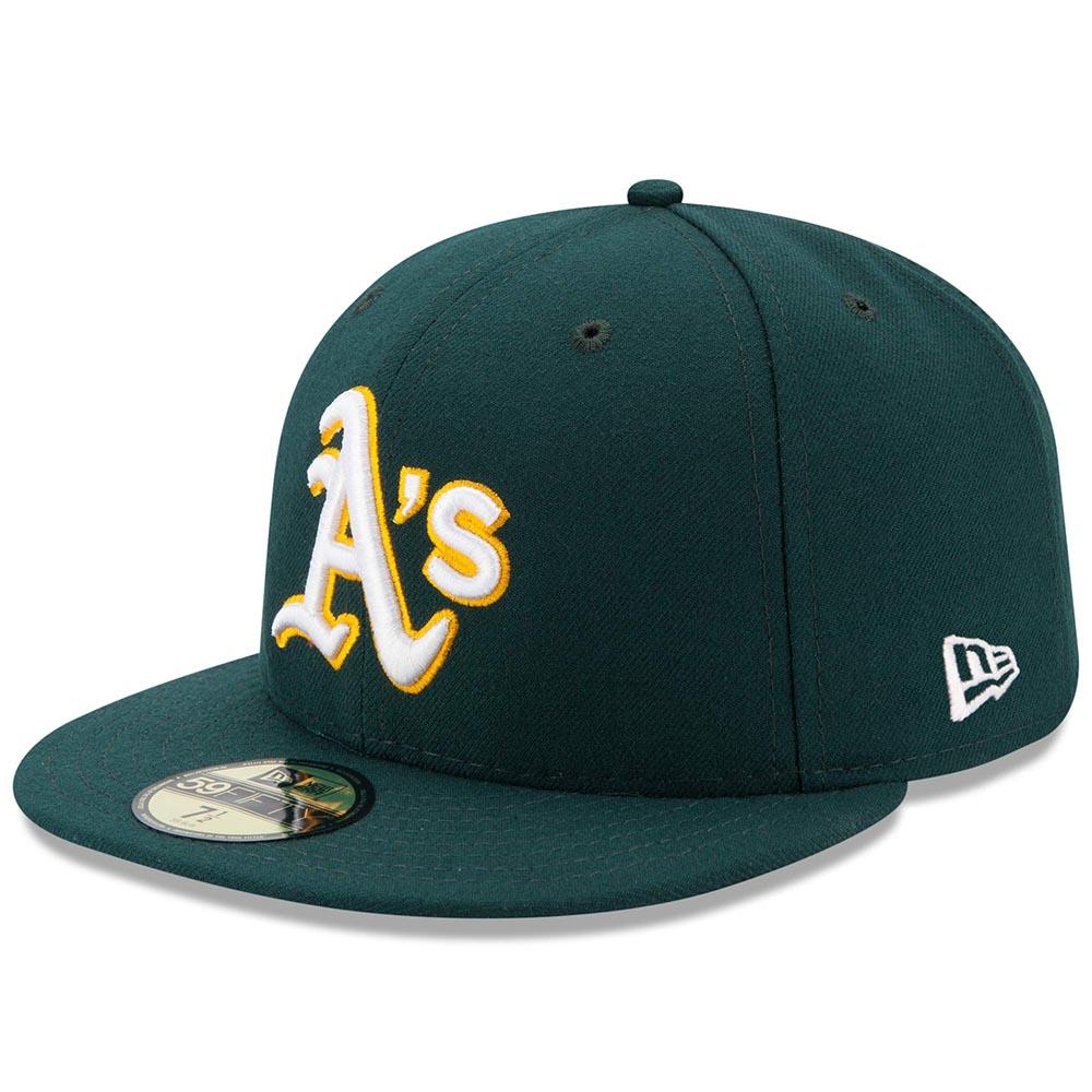 アスレチックス キャップ ニューエラ NEW ERA MLB オーセンティック オンフィールド 59FIFTY ロード