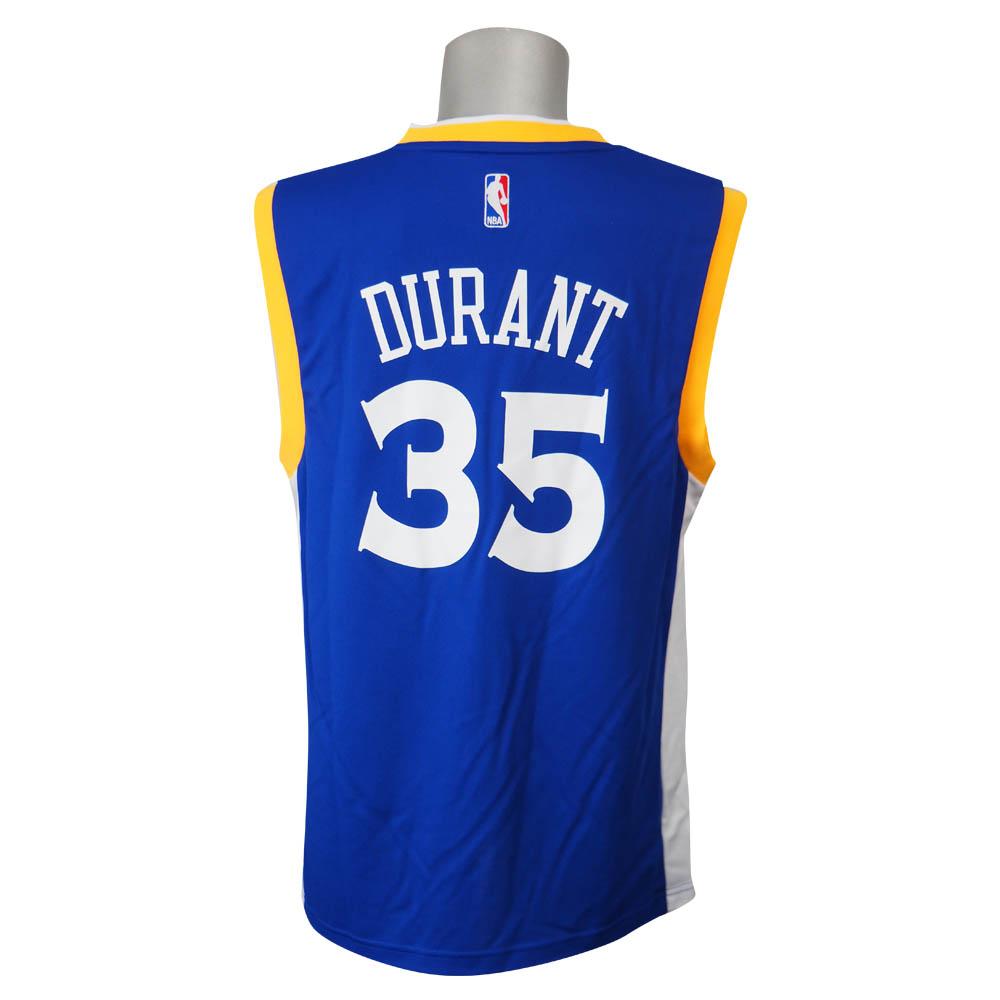 quality design e58cb 5b318 NBA Warriors Kevin Durant revolution replica uniform Adidas /Adidas Stretch