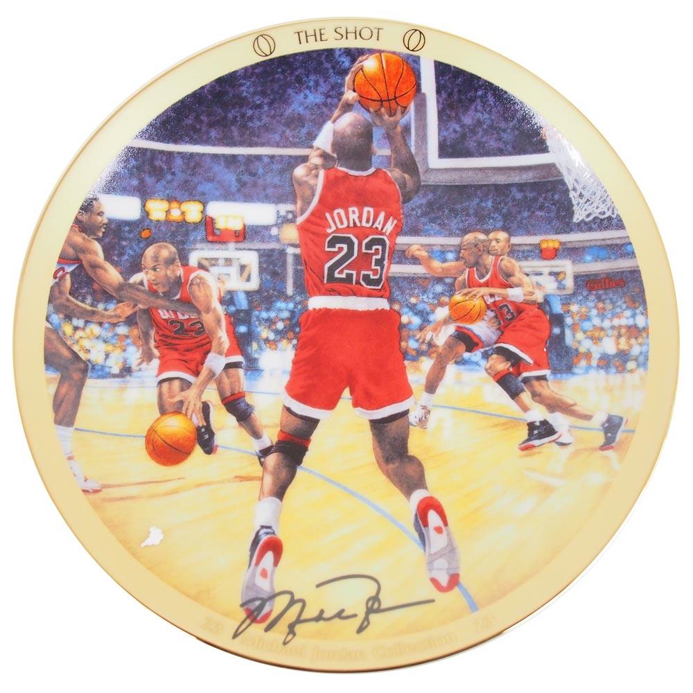 NBA ブルズ マイケル・ジョーダン コレクター プレート The Shot (4368A) Upper Deck