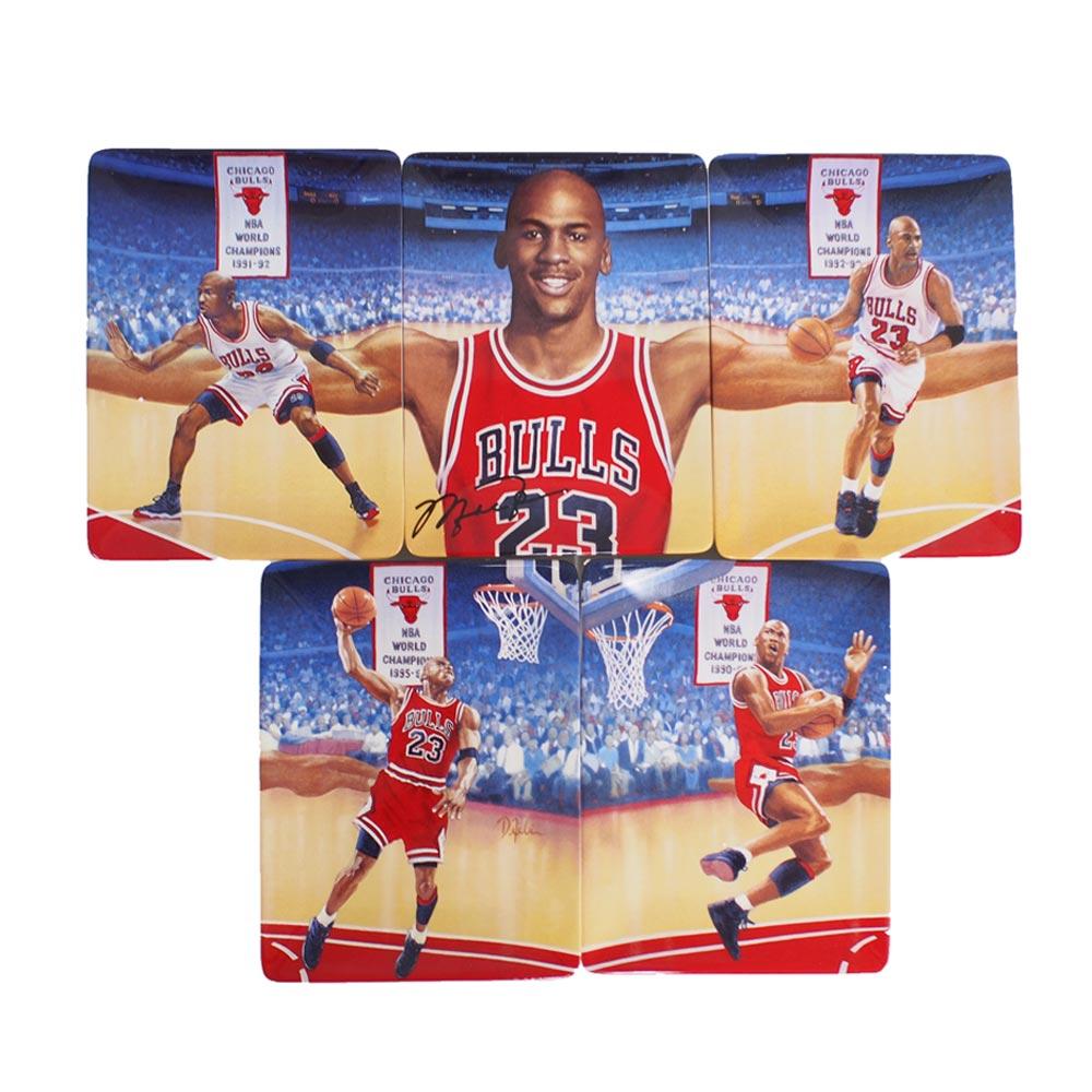 c83373c5d522 MLB NBA NFL Goods Shop  NBA Bulls Michael Jordan plate collection ...