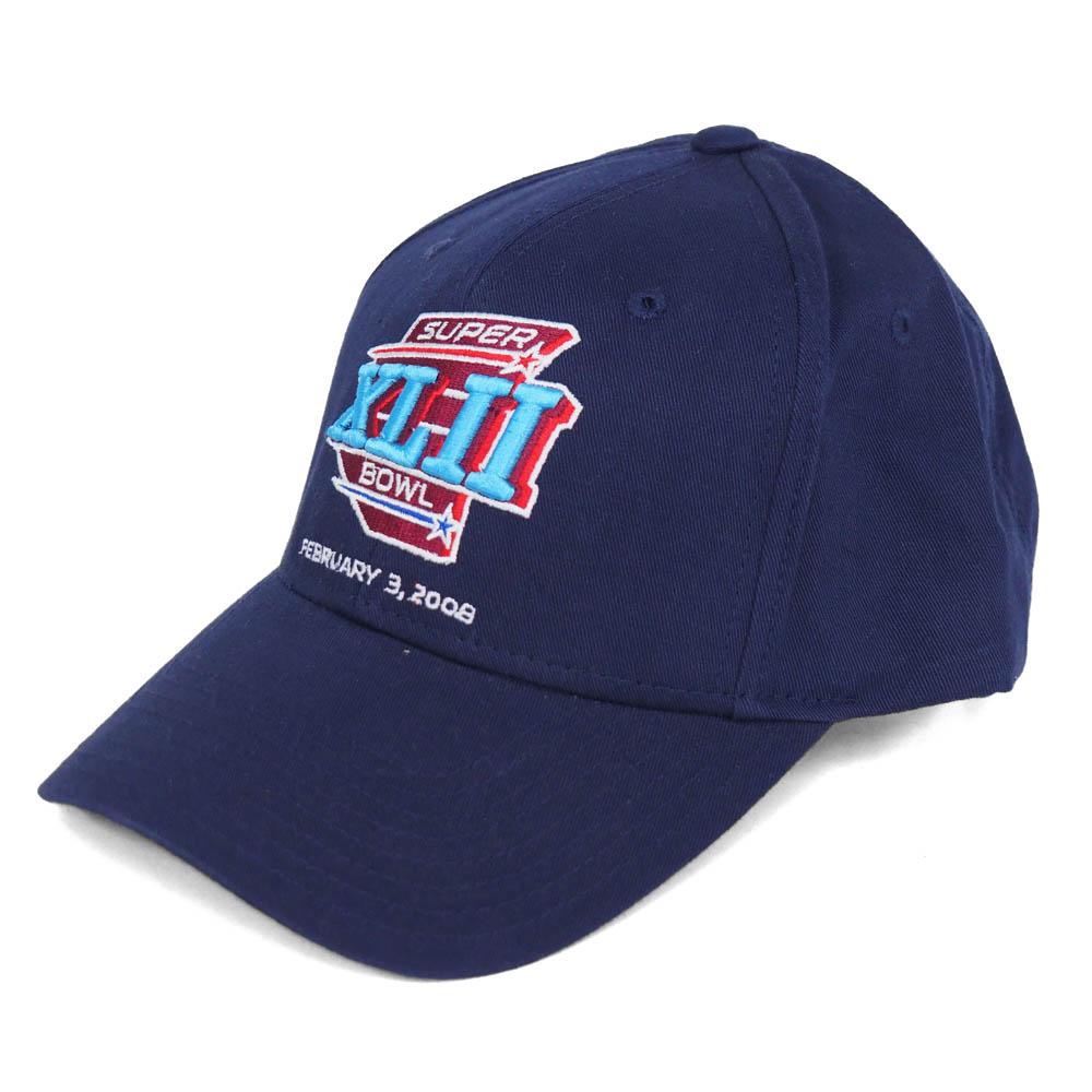 NFL ペイトリオッツ 2008 スーパーボウルXLII キャップ/帽子 リーボック/Reebok ネイビー レアアイテム
