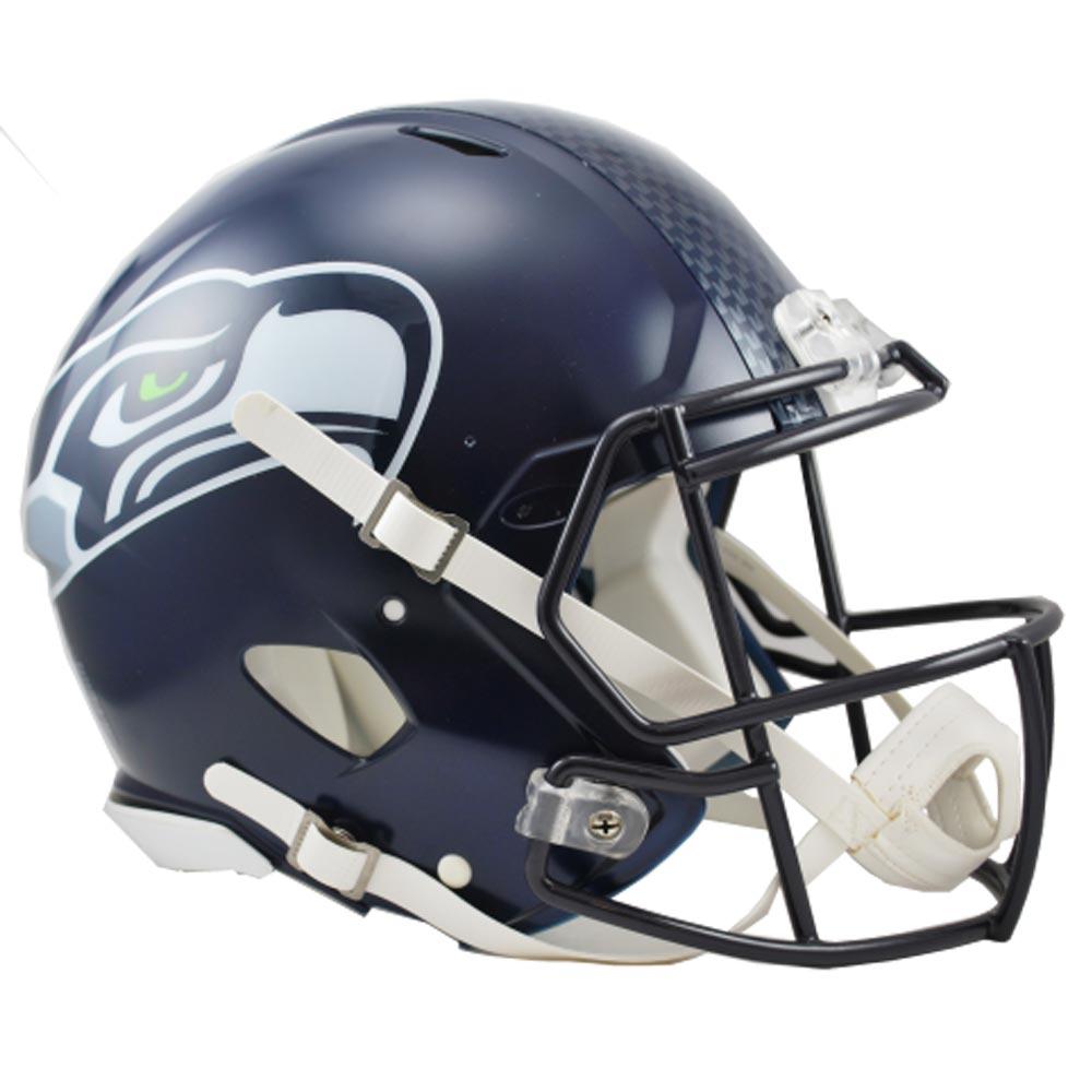 NFL シーホークス オーセンティック ヘルメット SPEEDタイプ リデル/Riddell