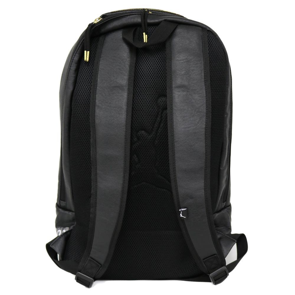 6db5f821fe ... 12 Nike Jordan NIKE JORDAN Jordan nostalgic backpack black gold 9A1773- 429  Air ...