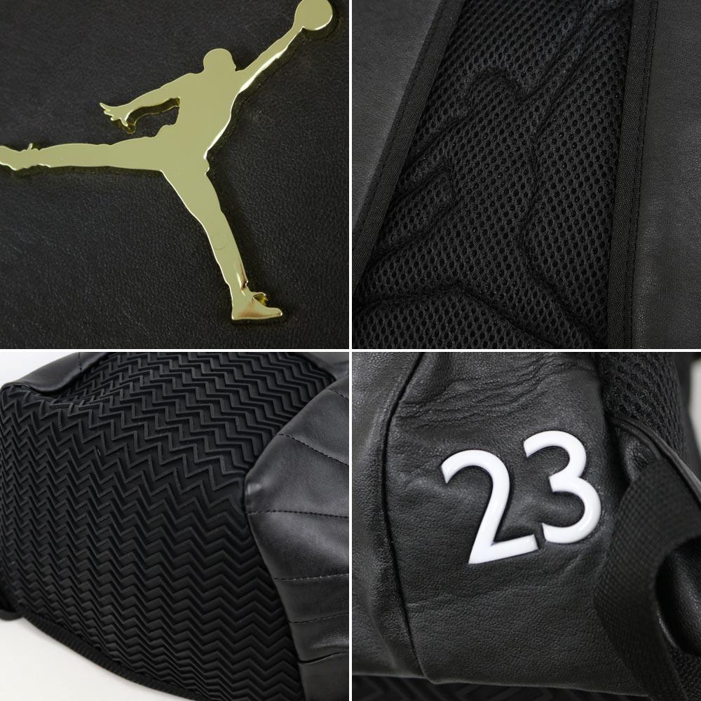 12 Nike Jordan  NIKE JORDAN Jordan nostalgic backpack black   gold 9A1773- 429 ea2ebe7fd3