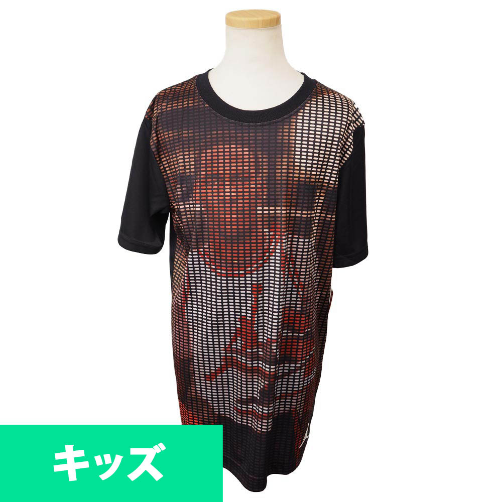ナイキ ジョーダン/NIKE JORDAN MJ フォトリアル サイツ キッズ Tシャツ 953545-023 ブラック【1910価格変更】